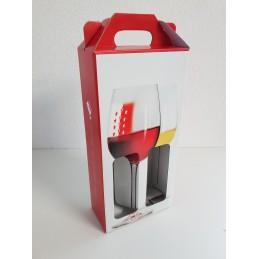 Portable 2 bouteilles Vins-Plaisir