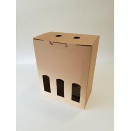 Carton bière 6 x 33 cl avec fenetre