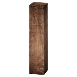 Coffret 1 bouteilles 75cl motif bois