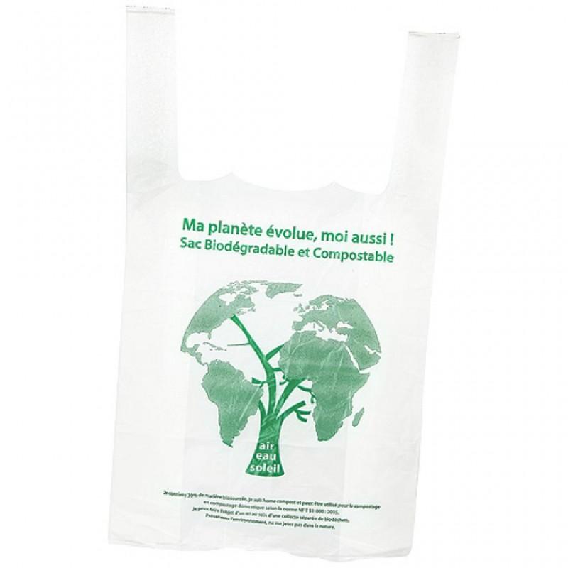 Cabas bretelle biodegradable