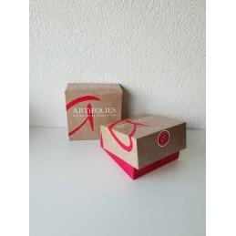Boîte pâtissière 18 x 18 x 8 cm