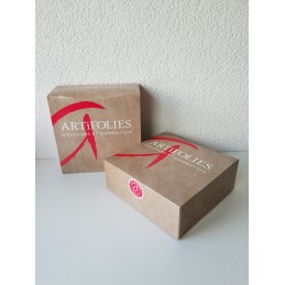 Boîte pâtissière 22 x 22 x 8 cm