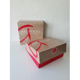 Boîte pâtissière 25 x 25 x 8 cm