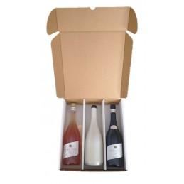 Coffret 3 btes \'\' Mousseux/Champagne\'\'