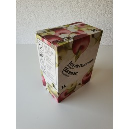 Bag-in-Box 3 litres  POMME - LATERALE