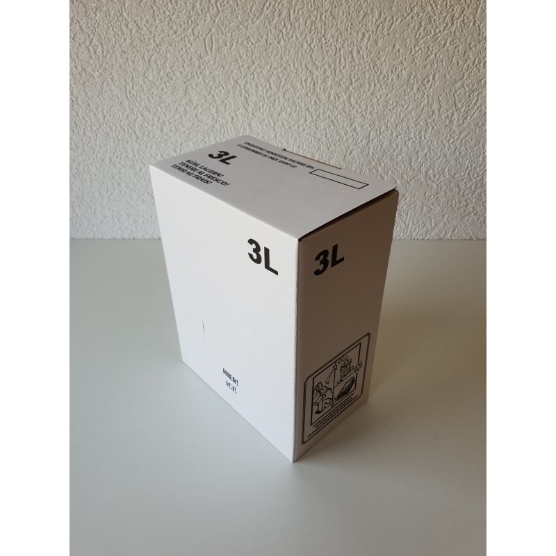 Bag-in-Box 3 litres blanc