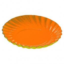 Coupelles ORANGE / JAUNE 9 cm diamètre