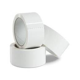 Rubans PVC 50mmx66m,BLANC