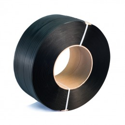 Ruban de cerclage PP noir,12.0 x 0.55 mm