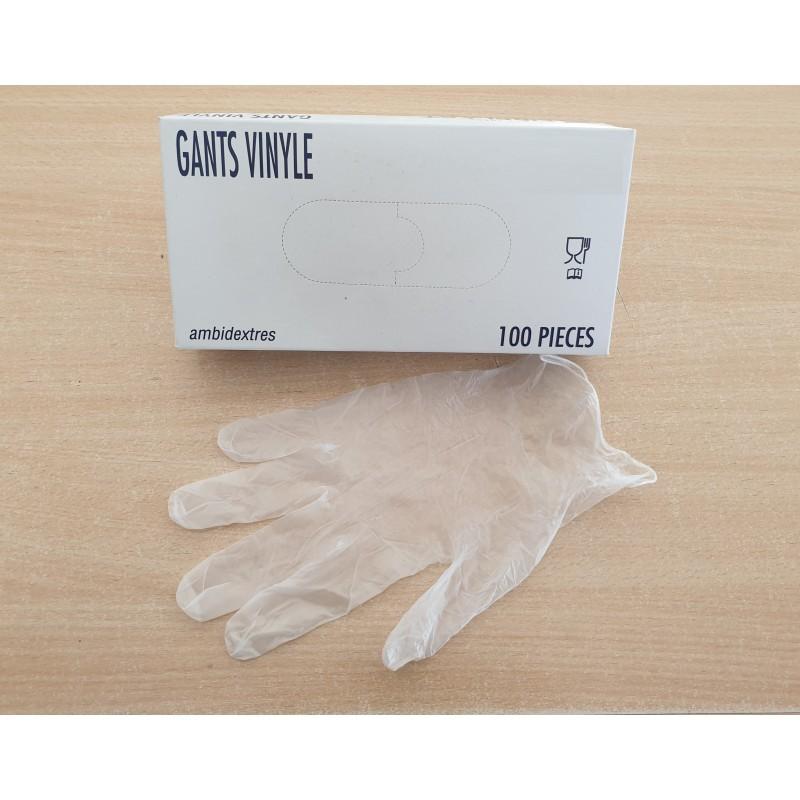 Gants Vinyle Taille S