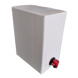 Bag-in-Box 5 litres BLANC - laterale