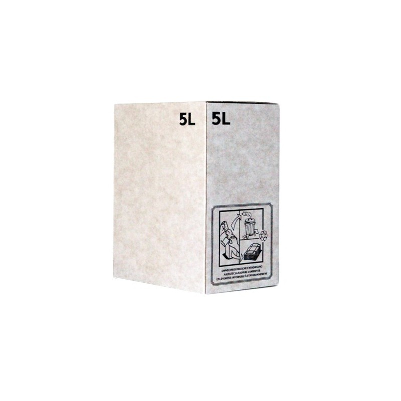 Bag-in-Box 5 litres blanc - LATERAL