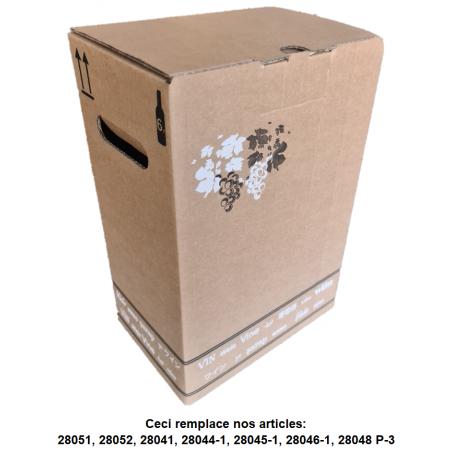Bag-in-Box 10 Litres Pomme BRUN - CENTRAL