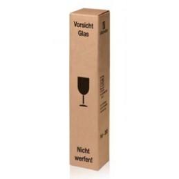 Carton poste pour coffret 1 bouteille