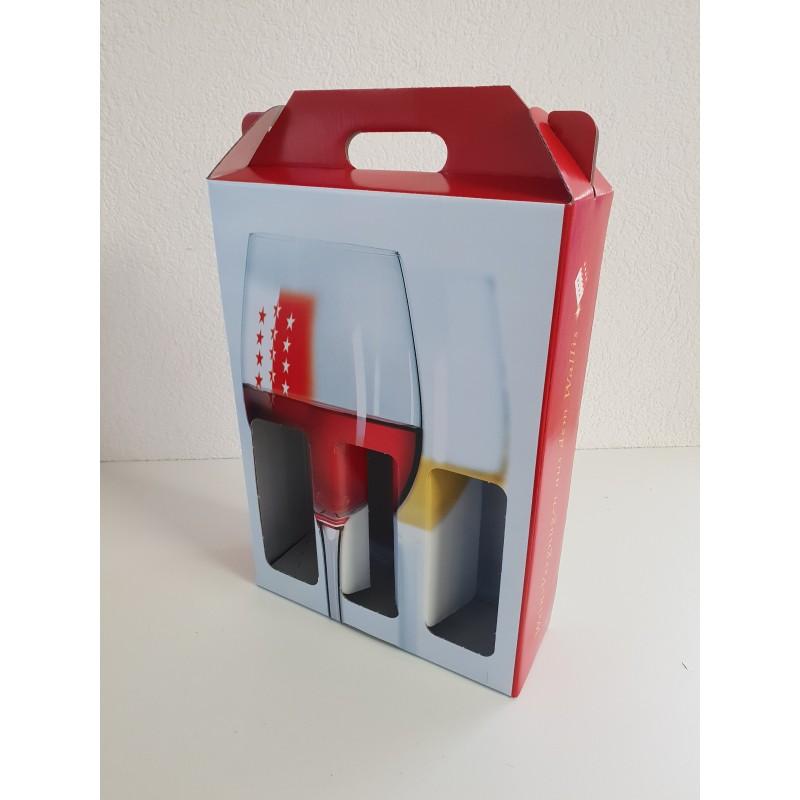 Portable 3 bouteilles Vins-Plaisir