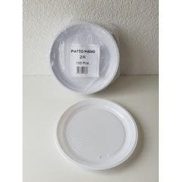 Assiette Plate blanche 220 mm