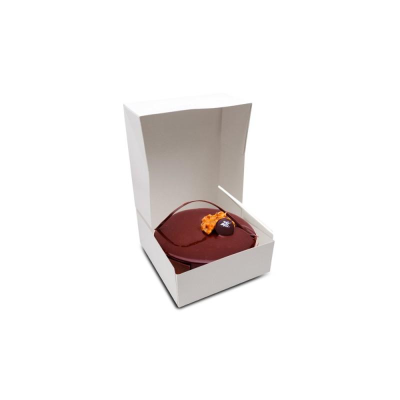 Boîte pâtissière BLANC 32x32x13cm