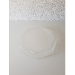 Cloche transparente ronde 240mm