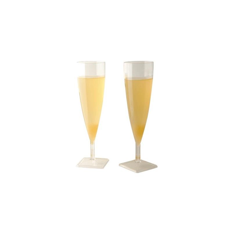 Flûte à champagne en PS